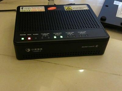 光纖數據機